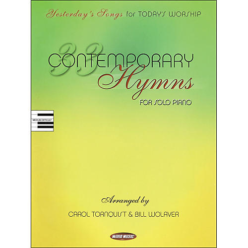 Word Music 33 Contemporary Hymns arranged for piano, vocal, and guitar (P/V/G) thumbnail