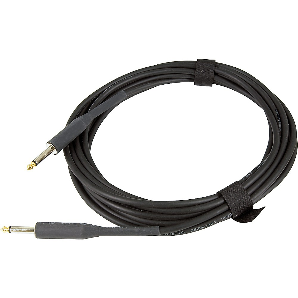 "2 Musician/'s Gear Braided Instrument Cables 1//4/"" Black 30 ft BRAND NEW"