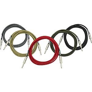 DiMarzio Instrument Cable Black 6 ft.