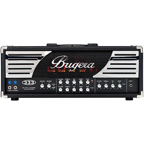 Bugera 333 120W 3-Channel Tube Guitar Amp Head thumbnail