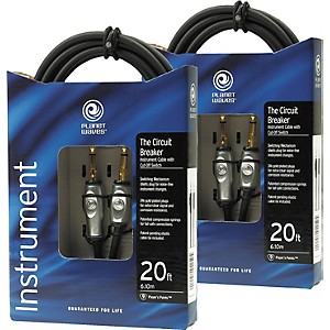 D'Addario Planet Waves Circuit Breaker Cable 20-Foot Buy One Get One Free