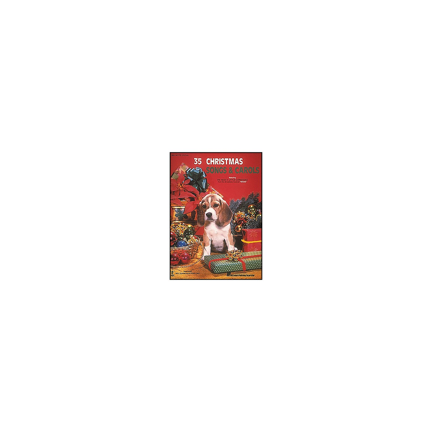 Hal Leonard 35 Christmas Songs And Carols for Big Note Piano thumbnail