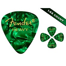 Fender 351 Premium Heavy Guitar Picks - 144 Count