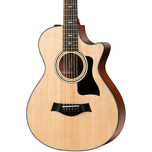Taylor 352ce Grand Concert 12-Fret 12-String Acoustic-Electric Guitar thumbnail