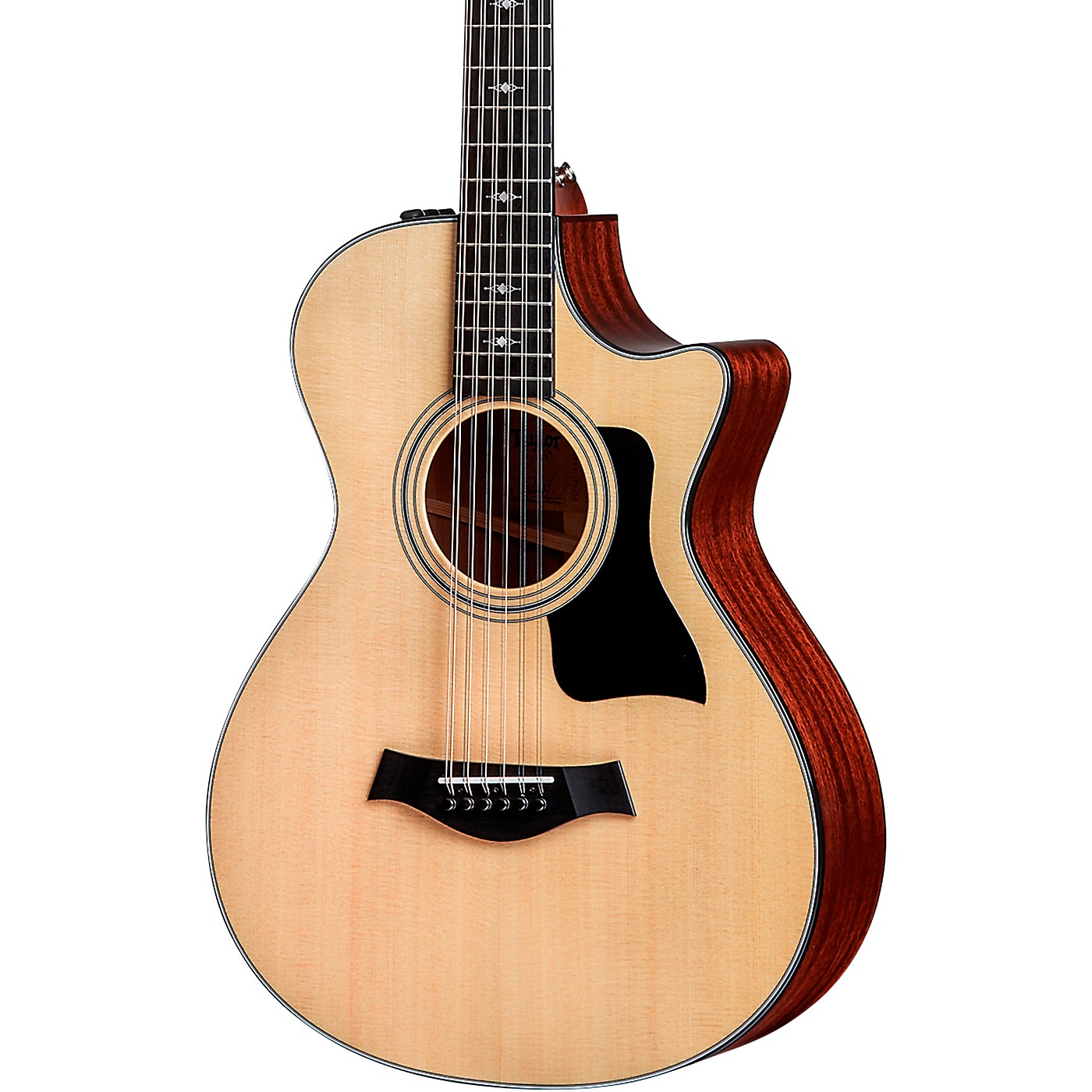 Taylor 352ce V-Class 12-Fret Grand Concert 12-String Acoustic Electric Guitar thumbnail