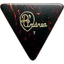 D'Andrea 355 Triangle Celluloid Guitar Picks One Dozen