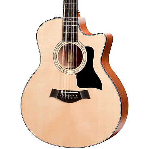 Taylor 356ce Grand Symphony Cutaway 12-String Acoustic-Electric Guitar thumbnail