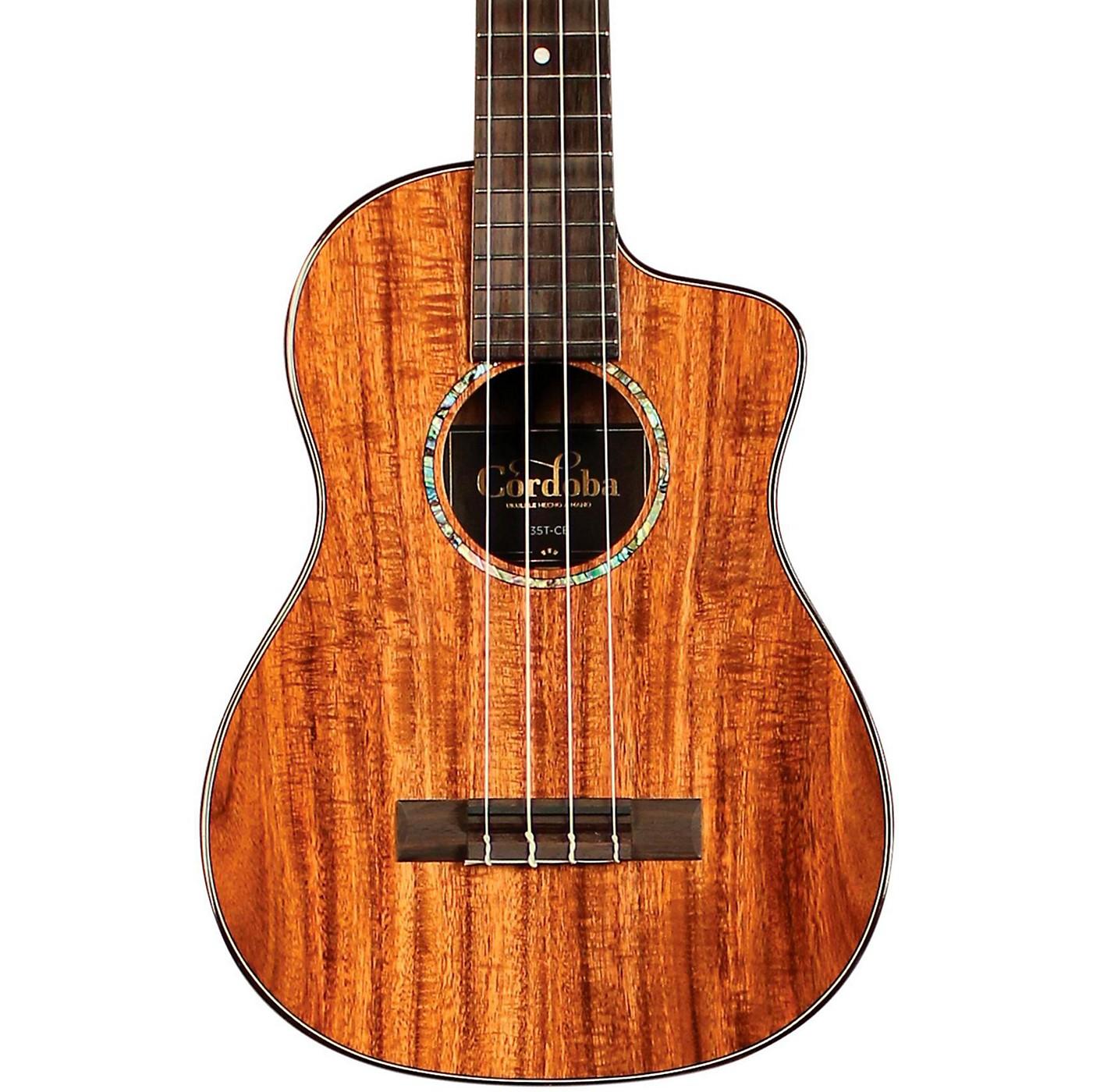 Cordoba 35T-CE Tenor Acoustic-Electric Ukulele thumbnail