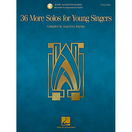 Hal Leonard 36 More Solos For Young Singers - Book/CD thumbnail