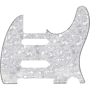 Fender Tele Pickguard For B Bender White Pearl