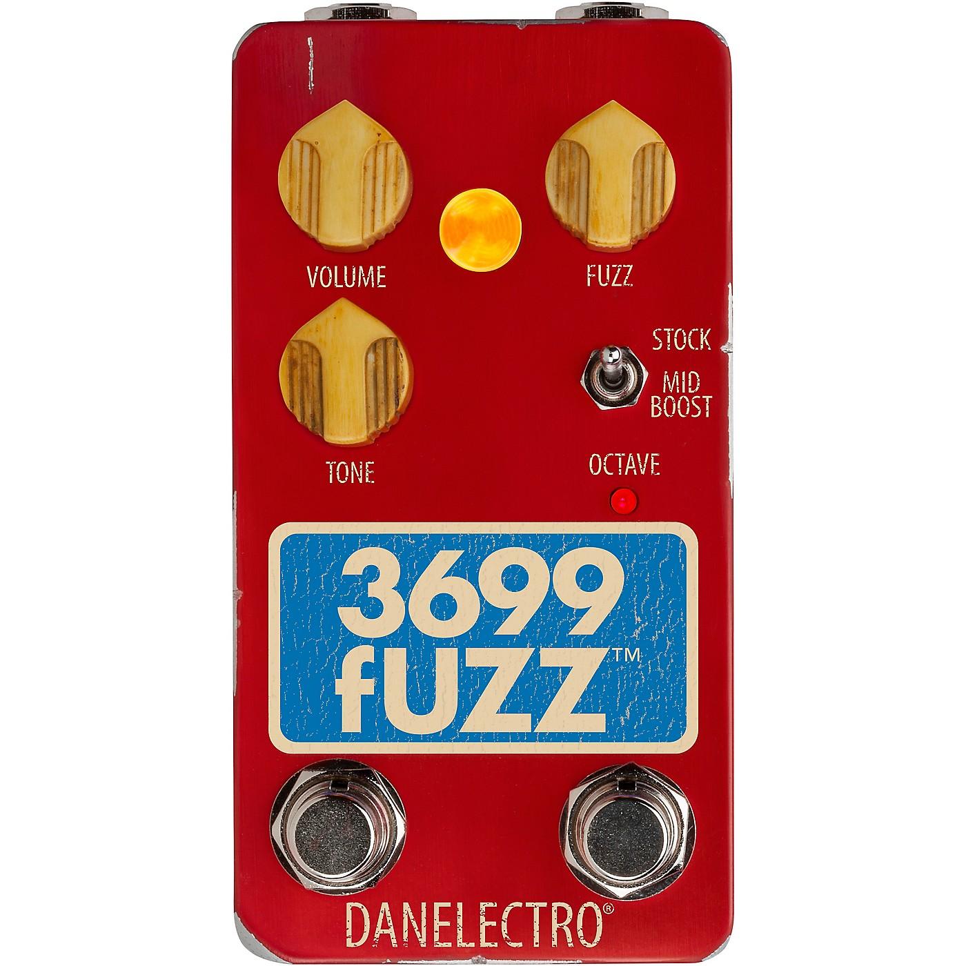 Danelectro 3699 Fuzz Effects Pedal thumbnail