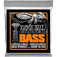 Ernie Ball 3833 Coated Bass Strings - Hybrid Slinky