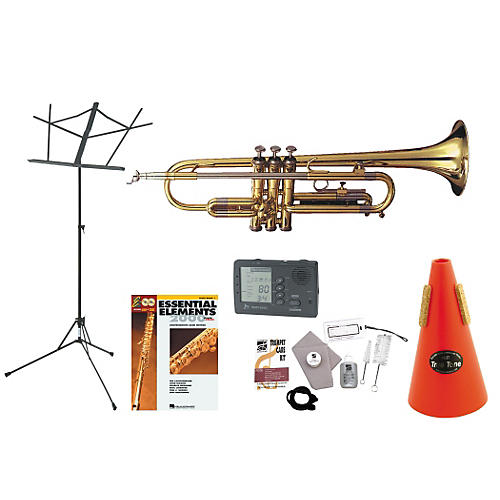 Getzen 390 Beginner Student Trumpet Bundle-thumbnail