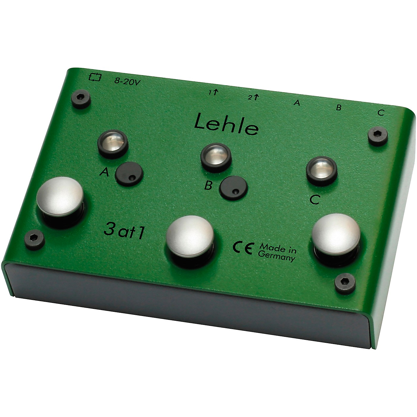 Lehle 3at1 SGoS Switcher With MIDI for 3 Instruments to Amp or Tuner thumbnail