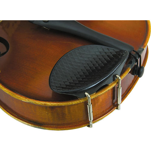 Glaesel 4/4 Violin Ribbed Plastic Chin Rest-thumbnail