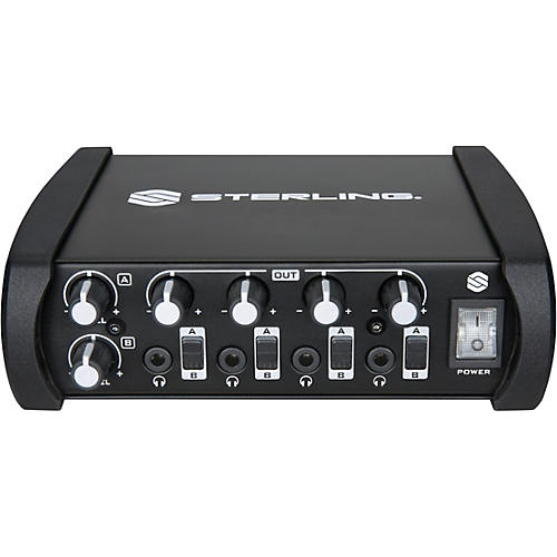 Sterling Audio 4 Channel Professional Headphone Amplifier thumbnail