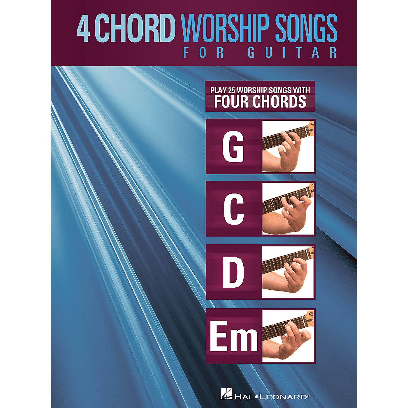 Hal Leonard 4-Chord Worship Songs for Guitar Guitar Collection Series Softcover Performed by Various thumbnail