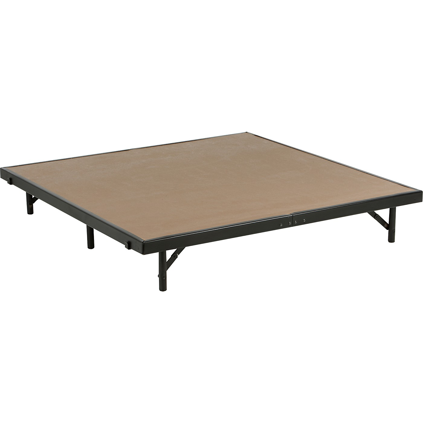 Midwest Folding Products 4' Deep X 4' Wide Single Height Portable Stage & Seated Riser thumbnail