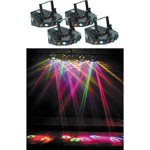 Eliminator Lighting 4-Head Tracker Light Effects System thumbnail