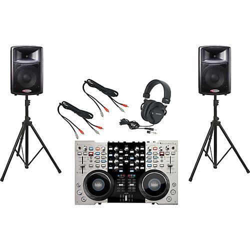 Hercules DJ 4-Mx / Harbinger APS12 DJ Package-thumbnail