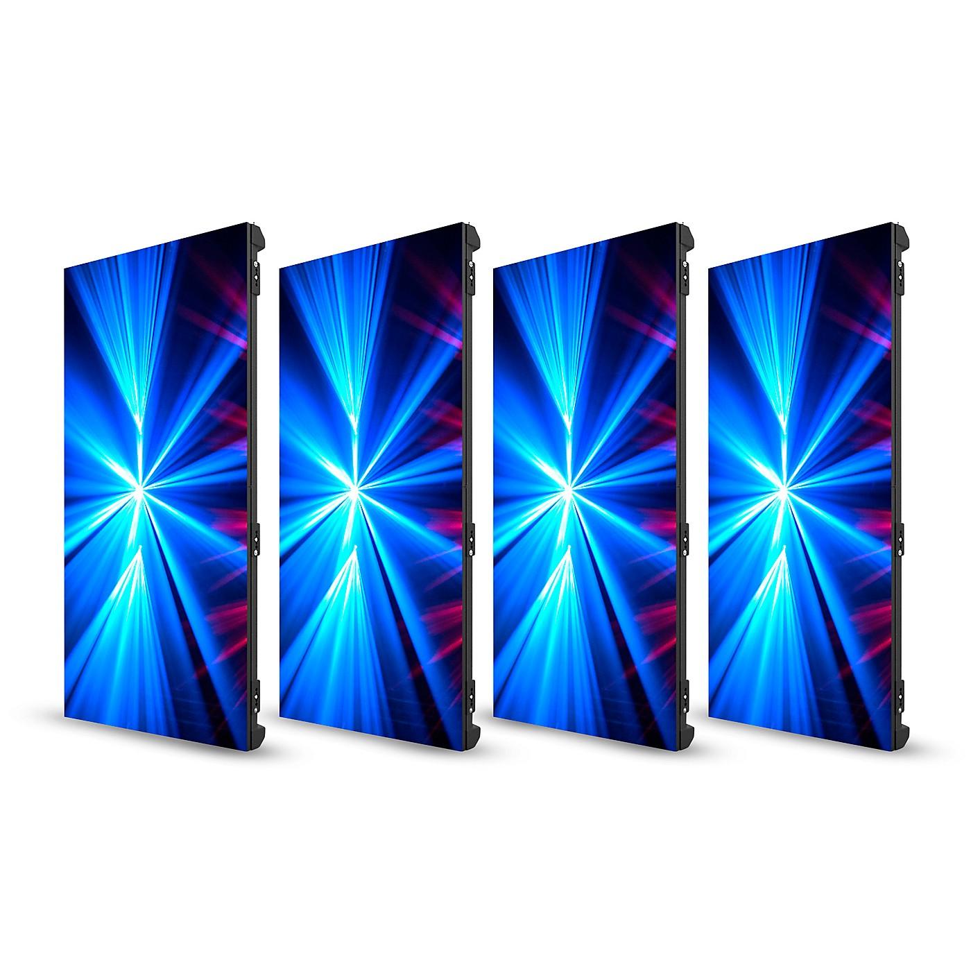 CHAUVET DJ 4-Pack of Vivid 4 Modular Video Panels with Road Case thumbnail