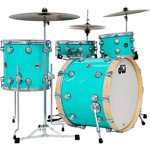 DW 4-Piece Collector's Series Santa Monica Shell Pack with Satin Chrome Hardware thumbnail