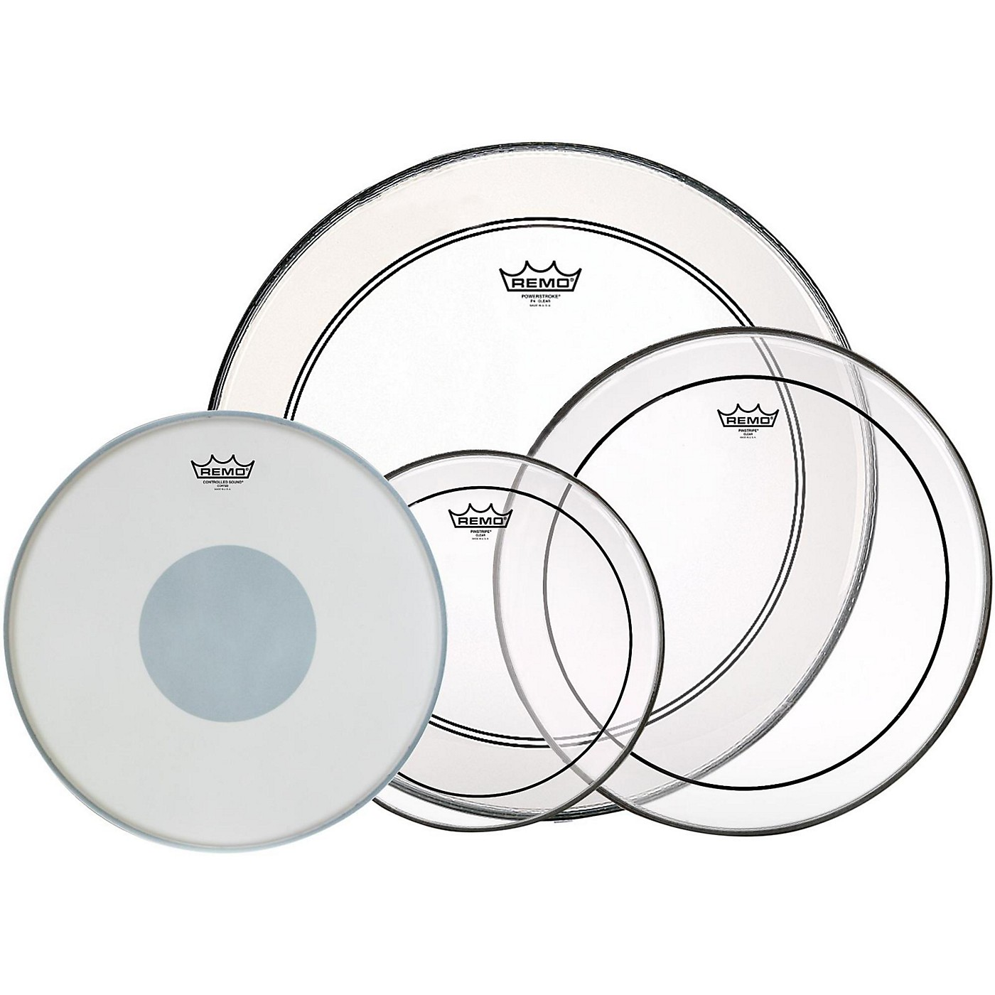 Remo 4-Piece Drumhead Pack thumbnail