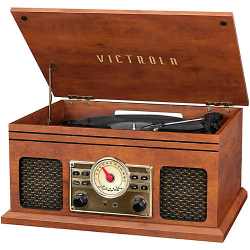 Victrola 4-in-1 Nostalgic Bluetooth Record Player with Radio thumbnail