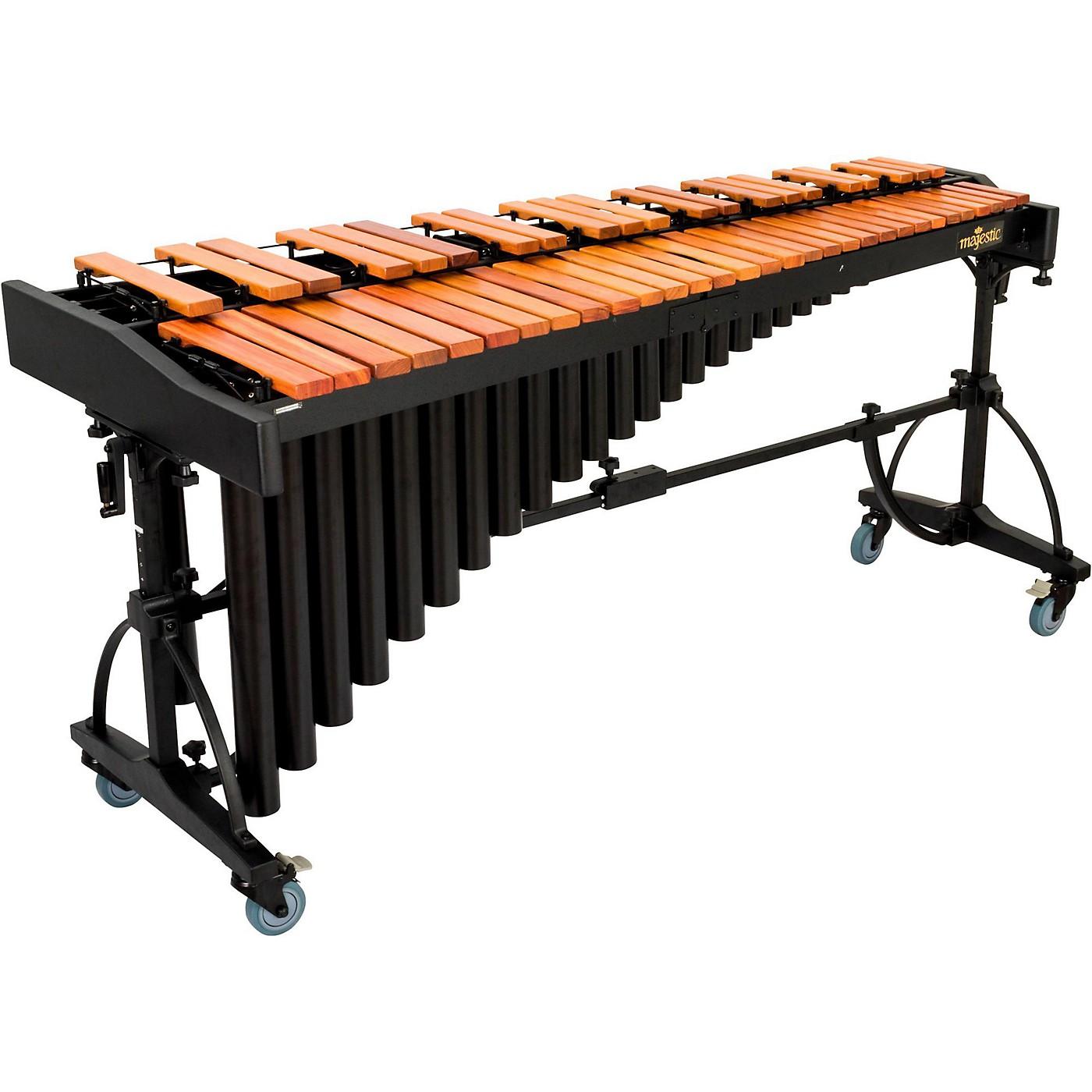 Majestic 4.3-Octave Deluxe Series Marimba with Padauk Bars thumbnail