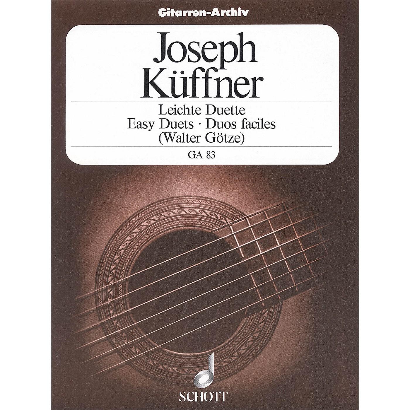 Schott 40 Easy Duets (Two Guitars) Schott Series thumbnail