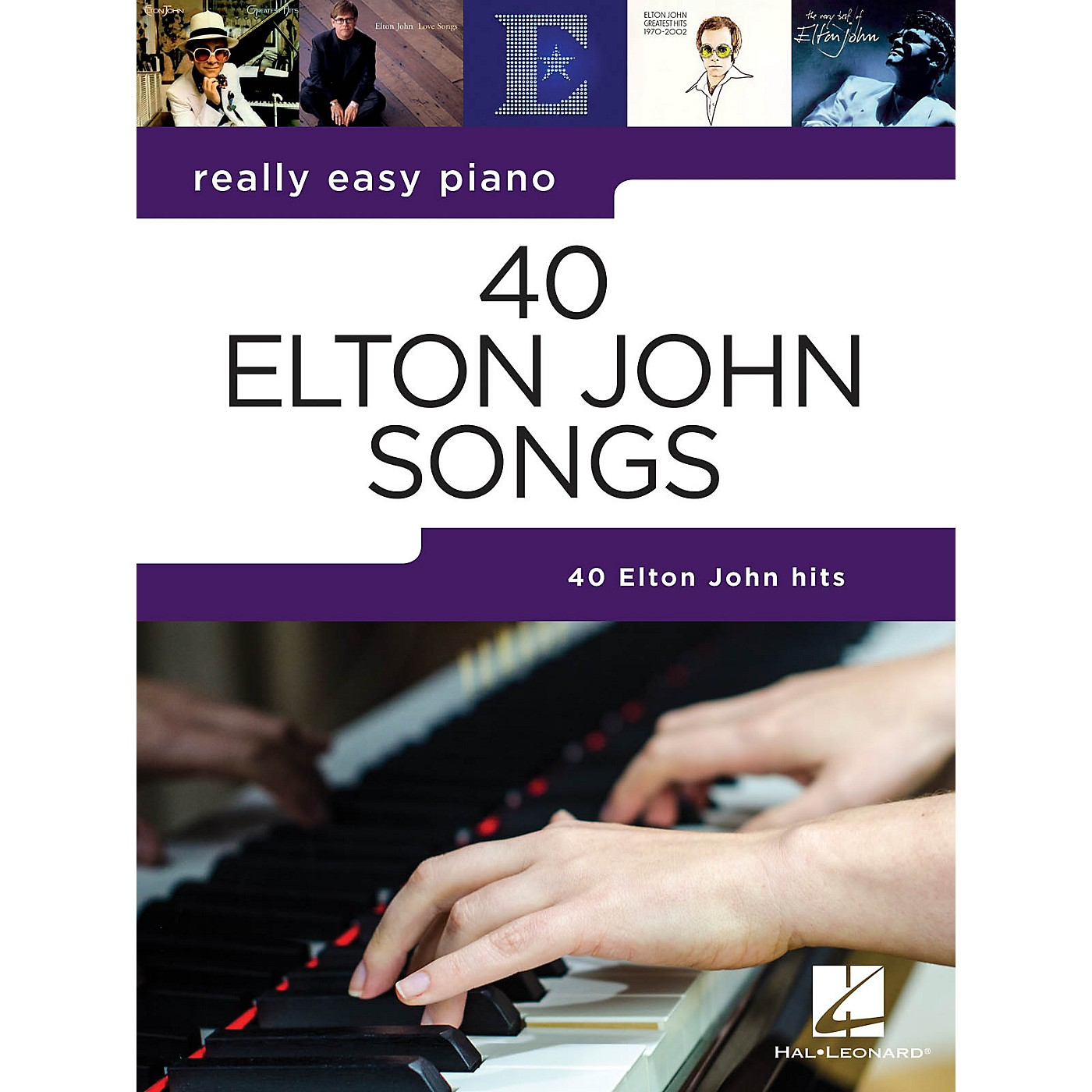 Hal Leonard 40 Elton John Songs (Really Easy Piano Series) Songbook thumbnail