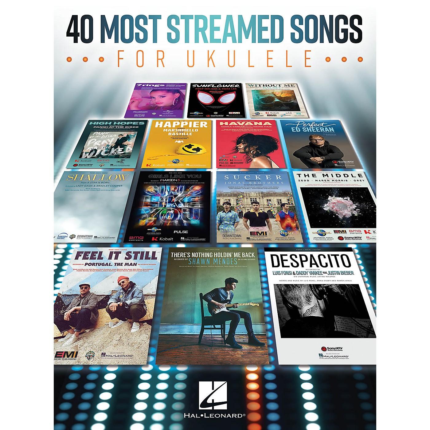 Hal Leonard 40 Most Streamed Songs for Ukulele thumbnail