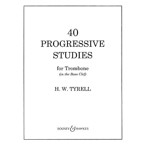 Boosey and Hawkes 40 Progressive Studies Boosey & Hawkes Chamber Music Series Composed by H.W. Tyrrell thumbnail