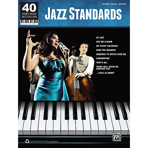 Alfred 40 Sheet Music Bestsellers: Jazz Standards Book thumbnail