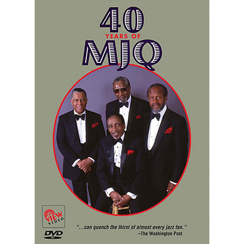View Video 40 Years of MJQ Live/DVD Series DVD Performed by Modern Jazz Quartet thumbnail