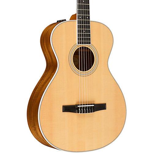 Taylor 400 Series 412e-N Grand Concert Nylon String Acoustic-Electric Guitar thumbnail