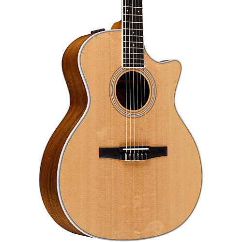 Taylor 400 Series 414ce-N Grand Auditorium Nylon String Acoustic-Electric Guitar thumbnail