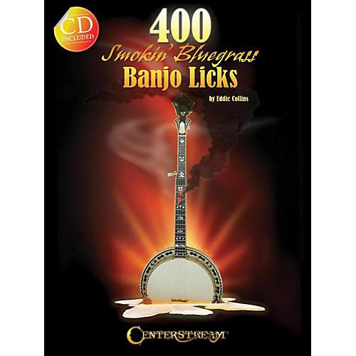 Hal Leonard 400 Smokin' Bluegrass Banjo Licks Book/CD thumbnail