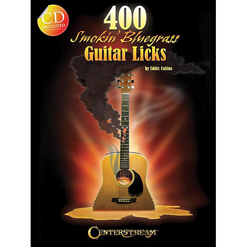 Hal Leonard 400 Smokin' Bluegrass Guitar Licks Book/CD thumbnail