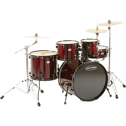 Pulse 4000 Series 5-Piece Drumset with PDP Hardware and Meinl Cymbals thumbnail