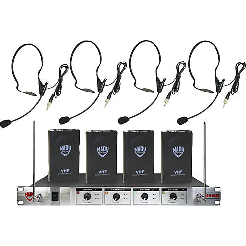 Nady 401X Quad HM-3 Headset Wireless System-thumbnail