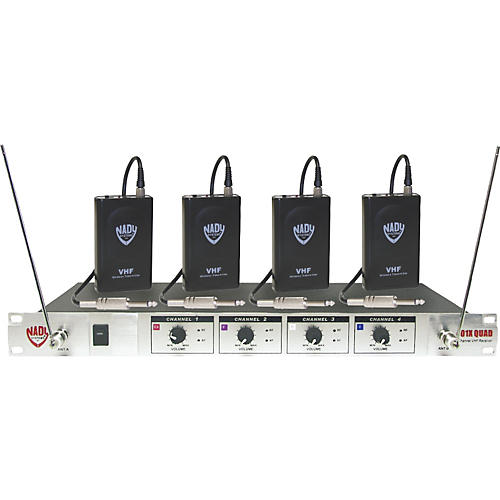 Nady 401X Quad WGT VHF Wireless Guitar System thumbnail
