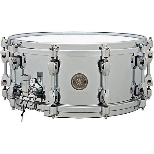 Tama 40th Anniversary Limited Starphonic Steel Snare Drum-thumbnail