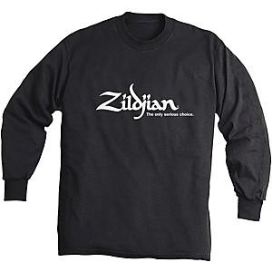 Zildjian Long Sleeve Shirt Black Extra Large