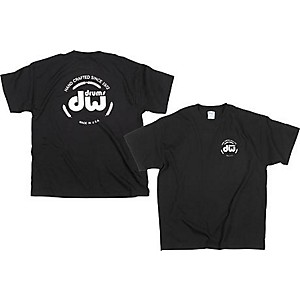 DW Classic Logo T-Shirt Black Large