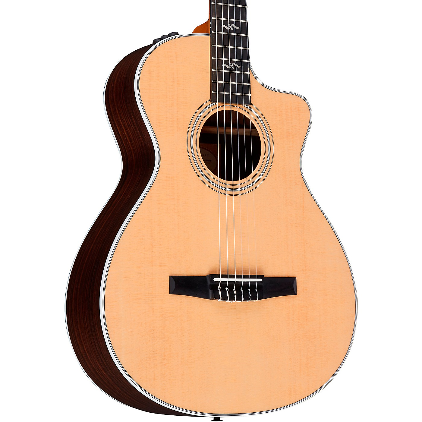 Taylor 412ce-N Rosewood Grand Concert Nylon String Acoustic-Electric Guitar thumbnail