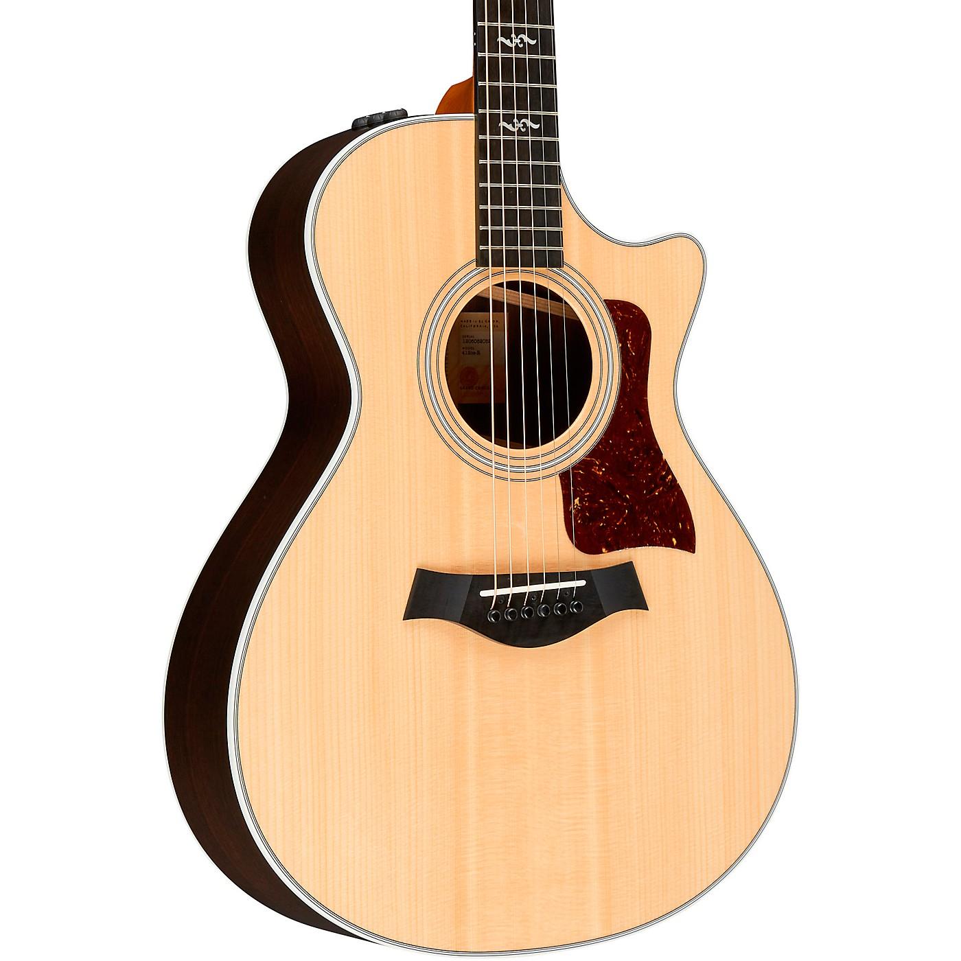 Taylor 412ce-R V-Class Grand Concert Acoustic-Electric Guitar thumbnail