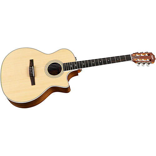 Taylor 414ce-N Ovangkol/Spruce Nylon String Grand Auditorium Acoustic-Electric Guitar thumbnail