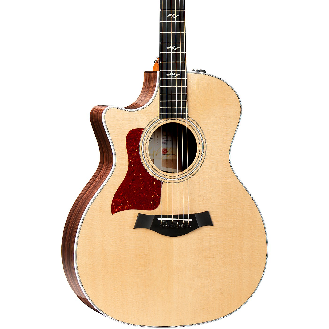 Taylor 414ce-R-LH V-Class Grand Auditorium Left-Handed Acoustic-Electric Guitar thumbnail