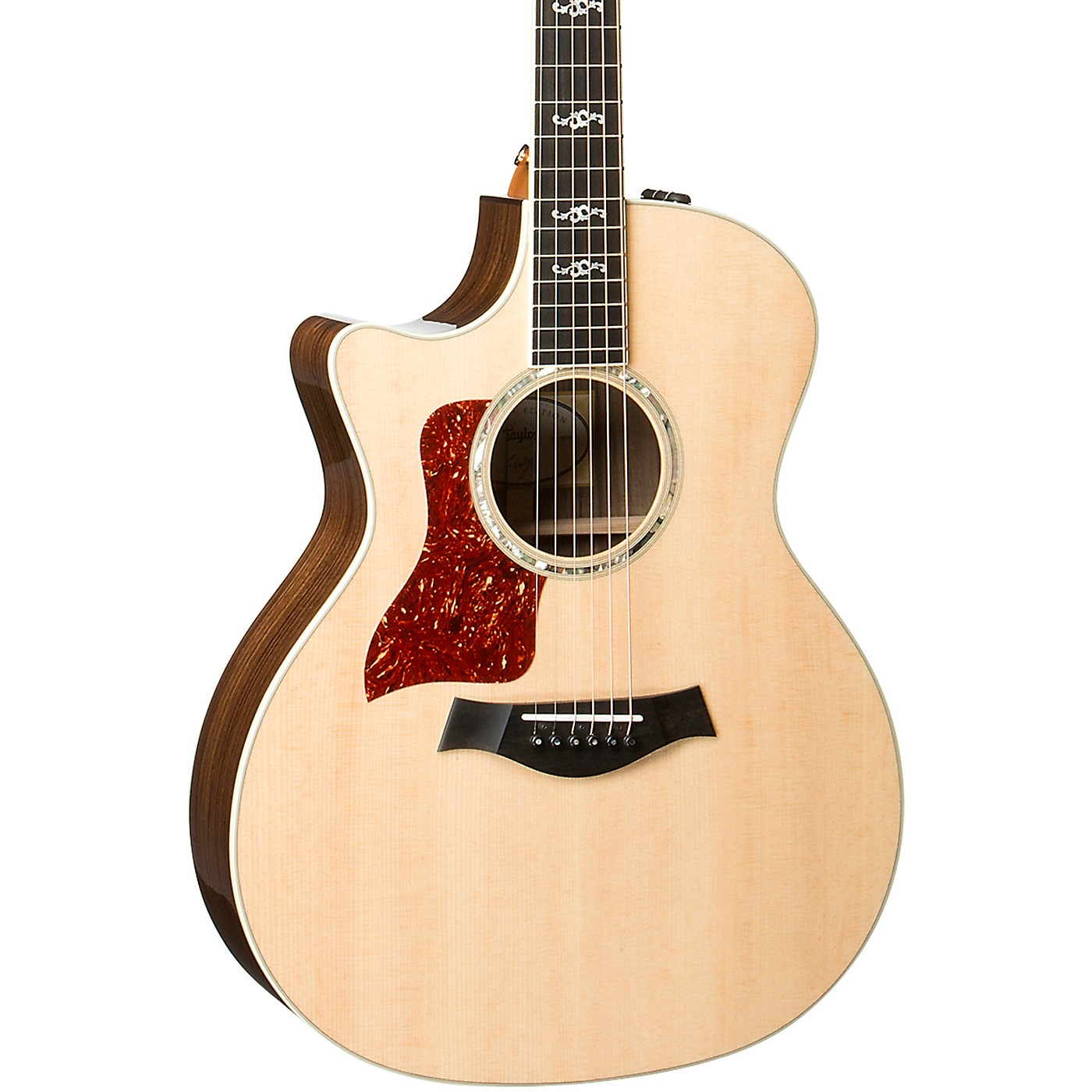 Taylor 414ce V-Class Special Edition Grand Auditorium Left-Handed Acoustic-Electric Guitar thumbnail